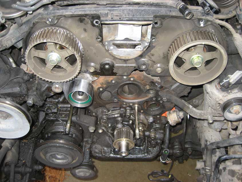2nd Gen 3vze Engine R U Thinking Of Doing Timing Beltwater Pump