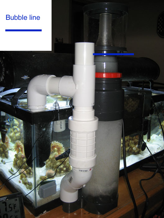 how to set up coralife biocube protein skimmer
